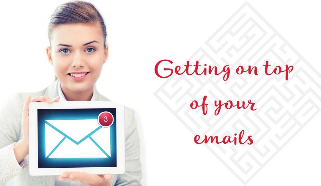 7 Tips for getting on top of your emails
