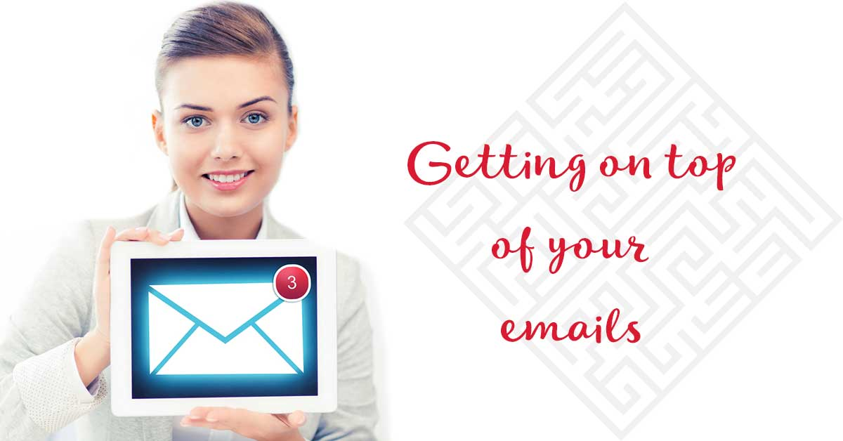 7 Tips for getting on top of your emails by Beyond the Maze, Paula Burgess, QLD Australia