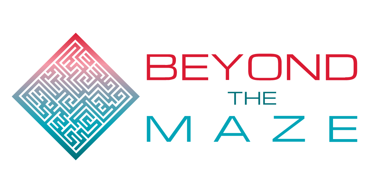 Logo Beyond the Maze for social share